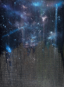 "Kristin Schattenfield-Rein We Are All Made Of Stars 48""x36"""