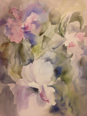 R. Ashley Krohmal Watercolors  Watercolor