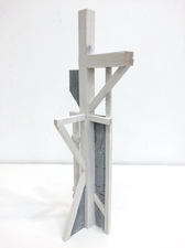 KURT LIGHTNER Totems Balsa wood acrylic paint