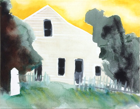 KURT LIGHTNER Homestead Acrylic on Canvas