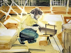 KURT LIGHTNER Builders/Growers Acrylic on Gessoed watercolor paper