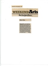KURT LIGHTNER New York Times Review Solo Show Clementine Gallery 2004