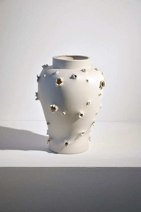Work Punctured Amphora 2