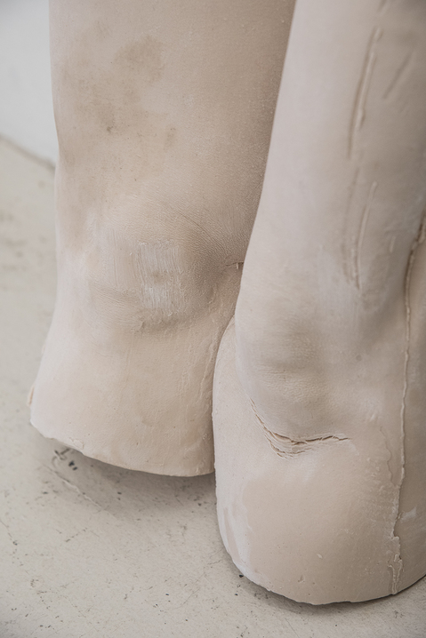 Work Detail of Porcelain Thighs