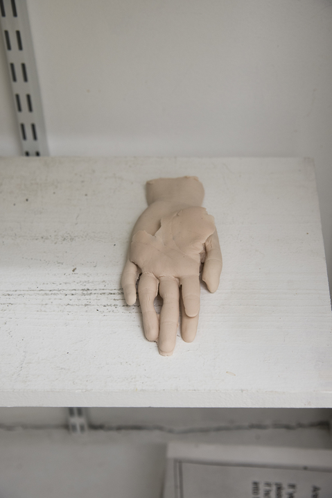 Work Stacked Fragmented Hands