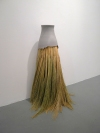 Work Pigmented porcelain and broomcorn