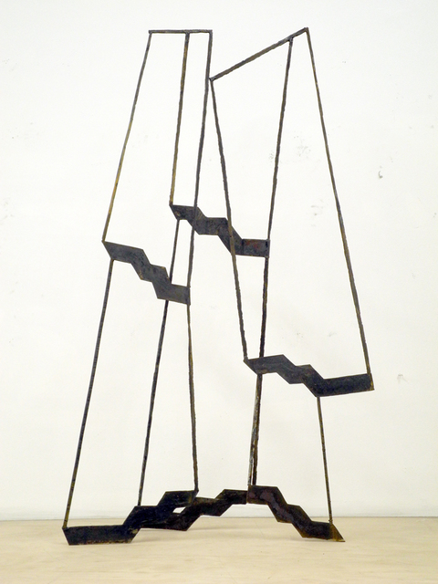 Dominique LABAUVIE Sculpture 2014 Forged Steel