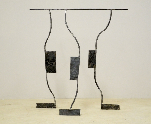 Dominique LABAUVIE Sculpture 2012 Forged Steel