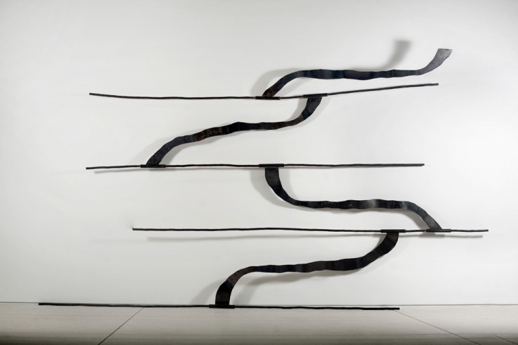 Dominique LABAUVIE Wall Sculptures Forged Steel
