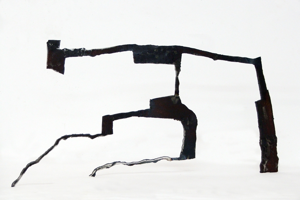 Dominique LABAUVIE Sculpture: Archive 2007-2010 Steel