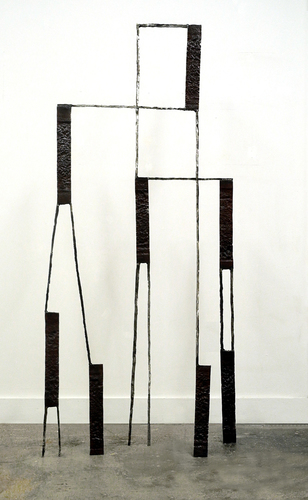 Dominique LABAUVIE Sculpture 2013 Forged Steel