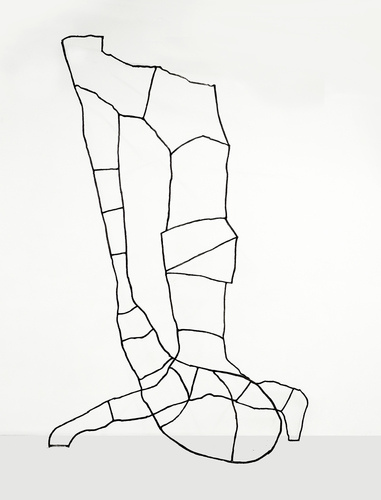 Dominique LABAUVIE Sculpture 2016 Steel