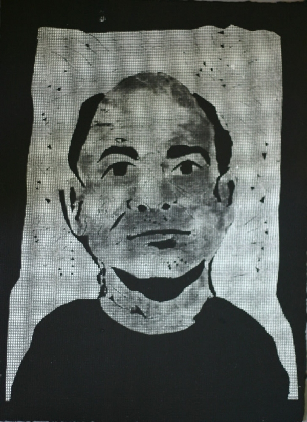 Monoprints Self-Portrait