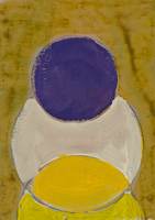 LANNY WEINGROD Study for the Perfect Circle Acrylic on Panel