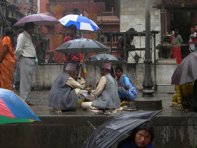 L.A. Photo Curator: Global Photography Awards - 'Where Photography & Philanthropy Meet' FIRST PLACE: Mykel Rose - Rain A drizzle of rain doesn't disrupt life in Kathmandu