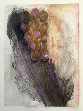 Laura Bell Selected Mixed Media and Paintings on Paper Pencil, pastel, Sharpie, china marker, and ink on paper