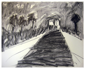Laura Bell Selected Drawings Charcoal on paper