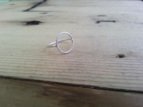 Shop Lightly Hammered: Ring