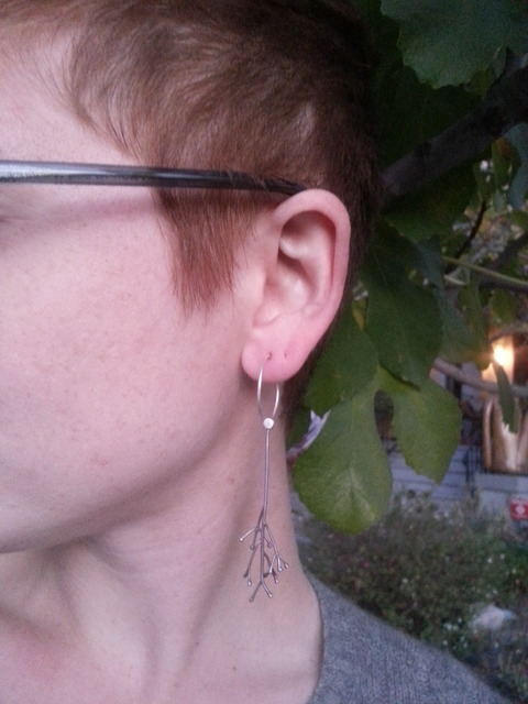 Twig et Pod: Earrings