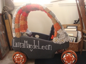 L M deLeon Yarn•age Kids' toy car, Yarn