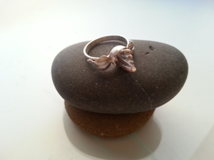 Sharks' tooth: OoaK Ring