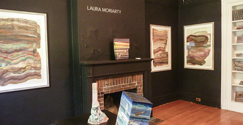Laura Moriarty Governor's Island Art Fair 2016