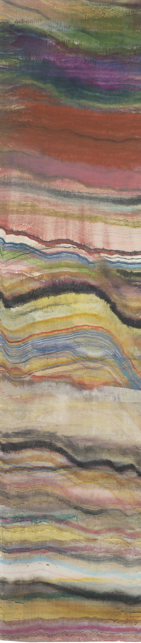 Laura Moriarty On Paper Encaustic on uda gami