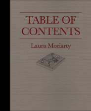 Laura Moriarty Merchantile Artist's book | 4 color offset, 66 pages + cover, perfect bound with foil stamping on cover