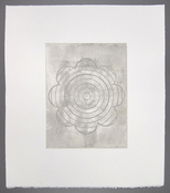 LAURA SUE KING ink soft ground etching
