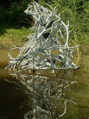 LAUREL SHUTE  Sculpture Installation