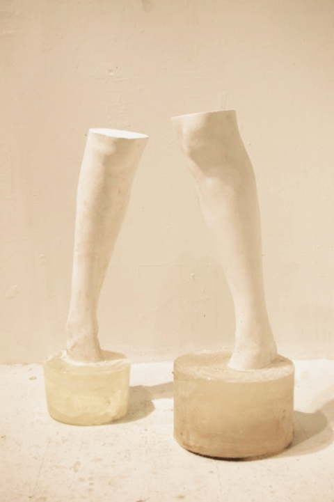 Fragments (small sculpture) Cement feet