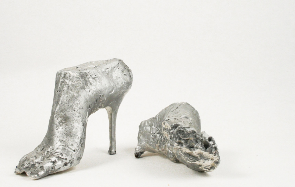 Fragments (small sculpture) Fossilized High Heeled Feet