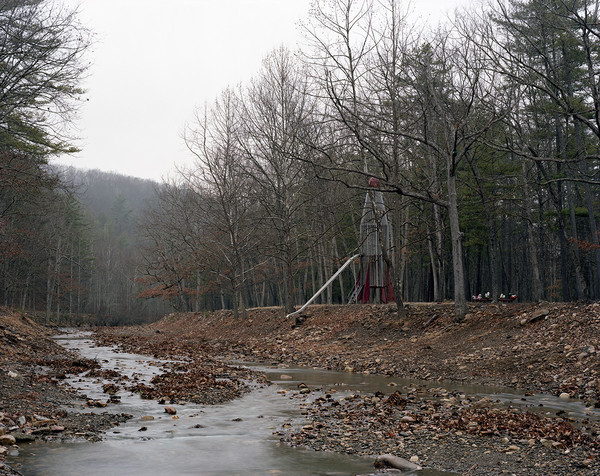 """ROCKET SCIENCE"" Photographs 2004- Ongoing ""Rocket, Up the Creek"""