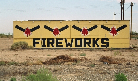 "FIREWORK ""Four Pops, New Mexico"""