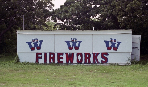 "FIREWORK ""Mr. W, Texas"""