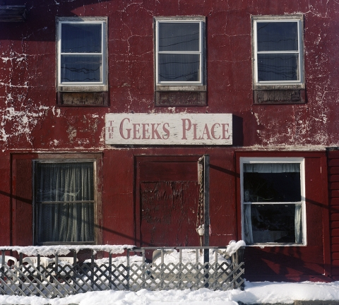 THIS MUST BE MY DESTINATION (selected images) The Geek's Place, Hopewell Junction, New York