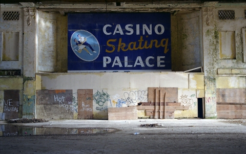 THIS MUST BE MY DESTINATION (selected images) Casino Skating Palace, Asbury Park, New Jersey