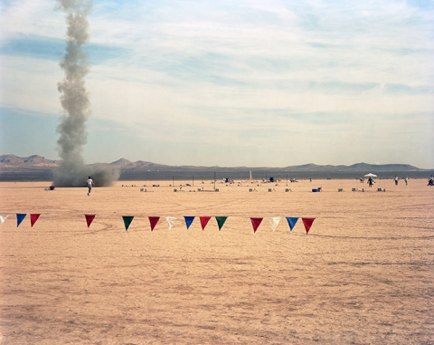 "COLLECTIVE SPACE ""Runner and Plume"" Jean Dry Lake Bed, Nevada"