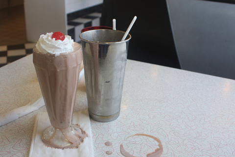 THIS MUST BE MY DESTINATION (selected images) Milkshake