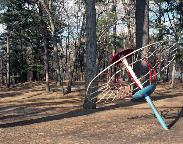 """ROCKET SCIENCE"" Photographs 2004- Ongoing ""Saturn In the Woods"""