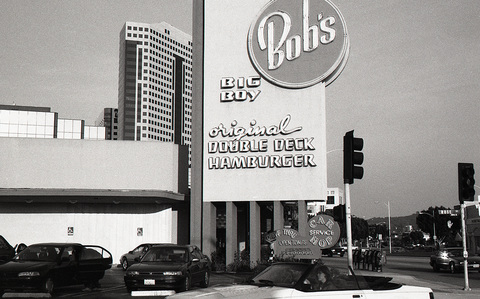 THIS MUST BE MY DESTINATION (selected images) Bob's Big Boy, Burbank, 1998