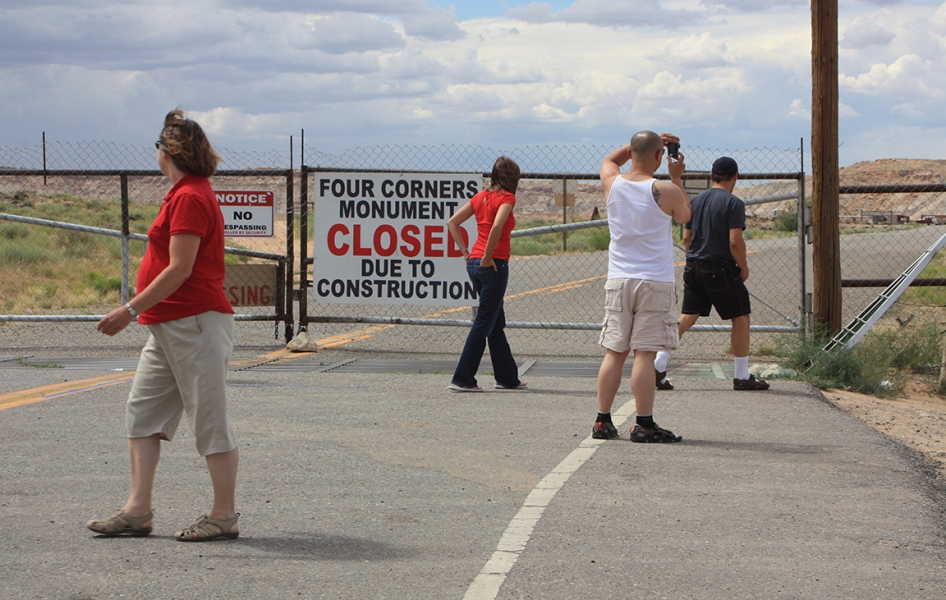 LORD, THIS MUST BE MY DESTINATION (selected images) Four Corners Closed
