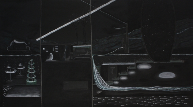 LAUREN ORCHOWSKI DRAWINGS Charcoal, graphite, and pastel on paper