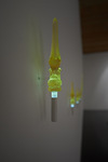 LAUREN PRESSLER  cast resin, LED's<br/>