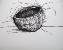 Lauren Kendrick Sleat Drawings 2004-2018 charcoal on paper
