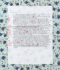 leah floyd Corrected Love Letters archival inkjet print