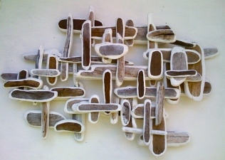 Sculpture/Installation acrylic/wood