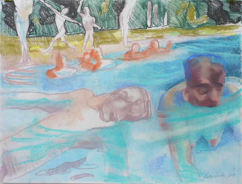 "UNCONSCIOUS; Water ""Brother and Sister Swimming"""