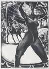 PRINTS 1987-1994 The Dark Years lithograph on paper