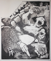 PRINTS 1987-1994 The Dark Years etching aquatint ink on paper